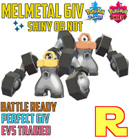 6IV COMPETITIVE MELMETAL ⚔️ SHINY / ULTRA or NOT (+ITEM!) 🛡 SWORD & SHIELD