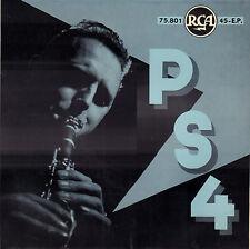 """PETER SCHILPEROORT QUARTET – PS 4 (DUTCH JAZZ VINYL EP 7"""" BELGIUM PS)"""