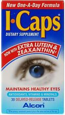 Alcon I-Caps Lutein 10mg - 30 Tablets
