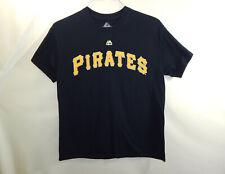 Andrew McCutchen Pittsburgh Pirates MLB Baseball Majestic T Shirt Size MEDIUM M