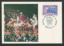 MONACO MK 1978 ZIRKUS ARTIST PFERDE HORSE CIRCUS CIRQUE MAXIMUM CARD MC CM d4937