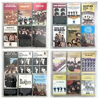 BUILD UR OWN Cassette Lot - Classic Rock - Beatles, Bowie, Stones, Queen + More!