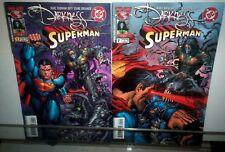 DARKNESS SUPERMAN #1 & #2 TOP COW DC COMICS Mob War 2005 NM 9.4 Unread FULL SET