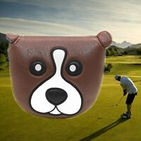 New Animal Dog Mallet Putter Cover Golf Club Headcover Magnetic For Odyssey Ping