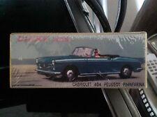dinky atlas cabriolet404 peugeot pininfarina essai de couleur