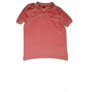 Paul & Shark Yachting Homme Polo Chemise Haut Stretch Taille L Rose Rouge Top
