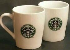 Pair of Classic Starbucks Mugs c.2007