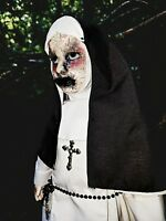 Ooak Creepy Horror Haunted The Nun Doll Halloween Prop Conjuring Inspired
