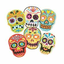Tovolo Sugar Skull Cookie Cutter & 6 Design Stamps Set Day of the Dead 81-22492