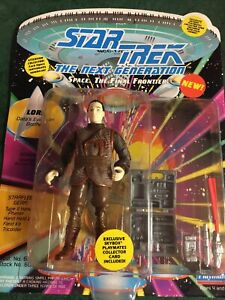 Star Trek Collectable Figures from Playmate UNCARDED-lore Data Evil Twin
