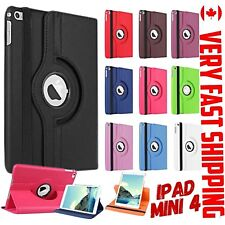 IPAD MINI 1 2 3 4 5 CASE  SMART LEATHER COVER ROTATING 360 - FAST SHIP  QUALITY