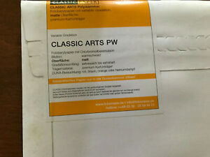 """NEW Sealed package Classics Arts Photo paper from Germany 19x15.5"""""""