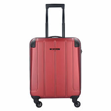 Franky Munich 4-Rollen Trolley S Koffer Hartschale 55 cm (dark red)