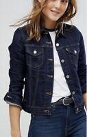 Levi's Women's Original Trucker Jacket In Indigo Navy Blue