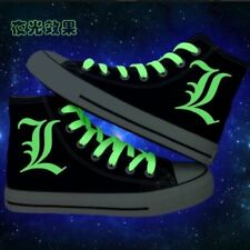 Hot Anime BTS Luminous High-Top Canvas Shoes casual unisex Outdoor Sneakers