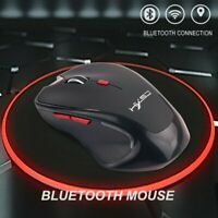 Bluetooth Wireless Mouse Computer Optical Mice for PC Mac Android OS Tablets TOM