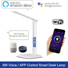 LED Smart Desk Lamp Flicker-free Wi-Fi APP Smart Light Goolge Home Voice Control
