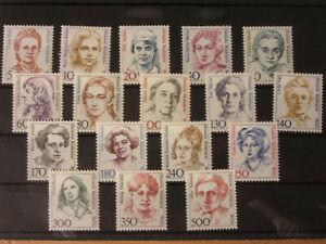 berlin postfrisch Freimarken Frauen