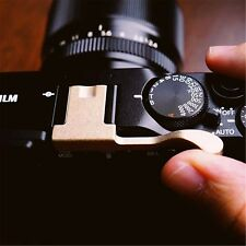 BRASS Thumb Rest Thumb Grip Hot Shoe Cover For Fuji X100F FujiFilm X 100F