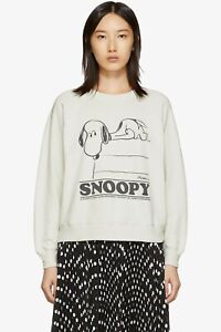 NWT MARC JACOBS x Peanuts® Snoopy Graphic Cotton Women's Sweatshirt Size Small