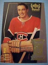 "99-00 Upper Deck Century Legends ""The Sporting News Top 50"" # 6 Jean Beliveau!"