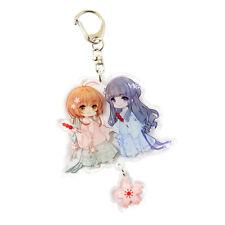 Card Captor SAKURA Daidouji Tomoyo Key Chains Keychains Rings Charms Fob Pendant