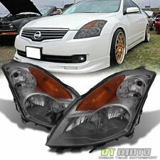 Smoked For 2007-2009 Altima 4-Door Sedan Headlights Headlamps Left+Right 07-09