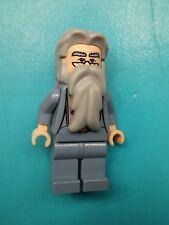 Lego Harry Potter Minifigure Albus Dumbledore Sand Blue w/ Beard 4767 5378 4768!