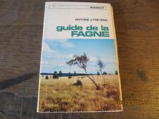Guide de la Fagne FREYENS 1967