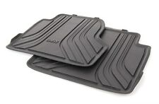 BMW Genuine All Weather Rubber Floor Mats Set Rear F32 51472348158