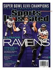 Sports Illustrated BALTIMORE RAVENS Super Bowl Champions 2013 Ray Lewis XCELLENT
