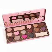 Too Faced Chocolate Bar & Bon Bons & Semi Sweet Peach Eyeshadow Palette-A