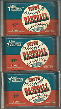 2002 Topps Heritage (1953) Baseball 3 Pack Lot