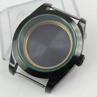BLIGER 39mm PVD Coated Case Sapphire Glass Watch Case Fit Miyota Movement