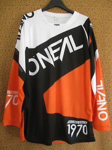 Maillot Motocross O'neal Moto Racing since 1970 cross Jersey BMX - M