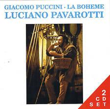 LUCIANO PAVAROTTI La Bohème 2 CD Set Teatro di Modena 1967 Live NEW & BOXED
