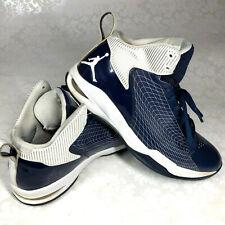 Air Jordan Fly 23 Mens Shoes Size 10.5 D Blue & White Leather #454094-401