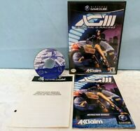 XGIII: Extreme G Racing (Nintendo GameCube, 2001) Complete with Manual - Tested