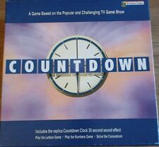 Britannia Games 2005 TV Show Countdown Letters Numbers Family Game - Complete