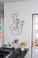 Baker Kitchen Wall Sticker Wall Art Vinyl Kitchen Sign Wall decor