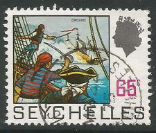 Elizabeth II (1952-Now) Used Seychellois Stamps (Pre-1976)