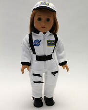 18 Inch Doll Clothes White Astronaut Suit and Hat