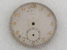 Art Deco Metal Dial 42mm (Watch-face) Doxa Antique Swiss Pocket Watch Original