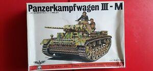 Panzerkampwagen PZKPFW.  MK III Ausf. M in 1/48 scale by Bandai/Fuman