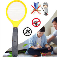 Handheld Electric Bug Pest Fly Mosquito Insect Killer Swatter Zapper Racket Bat