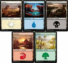MTG – Lotto Terre Base starter 100 carte 20 per tipo - Basic Lands 20 each magic