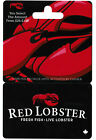Gift Card RED LOBSTER 🦞🦐 🐟🐠 Collectible Restaurant * No Value * For Sale