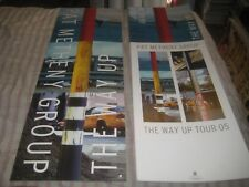 PAT METHENY GROUP-THE WAY UP-1 POSTER FLAT-2 SIDED-11X32 INCHES-NMINT-RARE!!!!