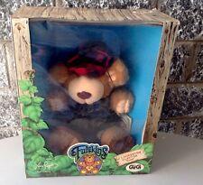 "Vintage 1985#Furskins 14"" J. Livingston Clayton Scout Plush Bear #Nib"