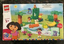 Lego 7332 Dora the Explorer Dora and Boots at Play Park Set 2004 Complete